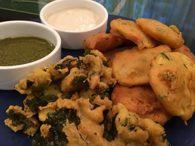 potato and kale fritters recipe