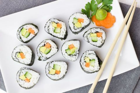 The Art of Sushi  Recipe