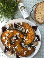 Spicy Roast Pumpkin with Feta