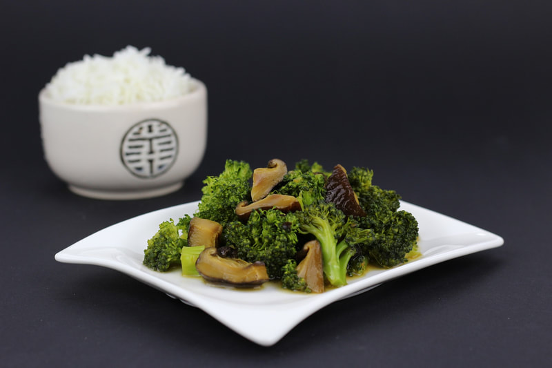 Stir-Fried Broccoli with Garlic